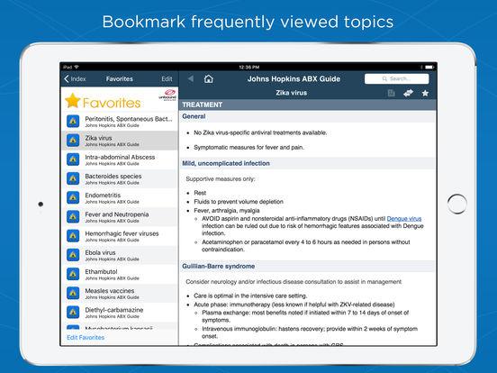 Johns Hopkins ABX Guide 2017 screenshot 10