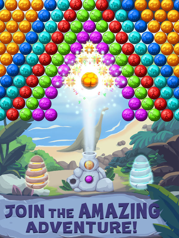 Jurassic Bubble Shooter screenshot 6