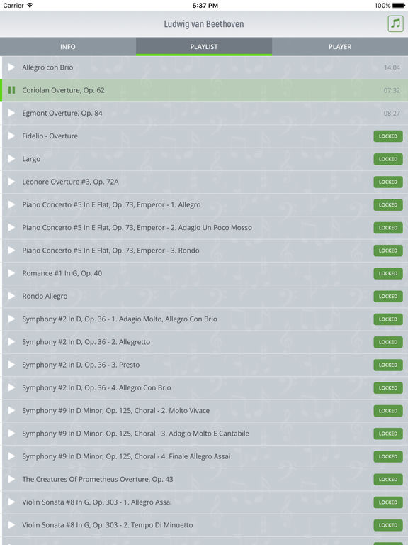 Ludwig van Beethoven - Classical Music screenshot 7