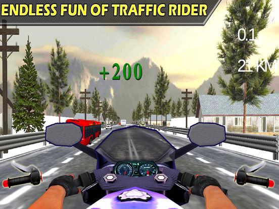 Moto X-Bike Traffic Racer : High-way Down-Hill 3D screenshot 5
