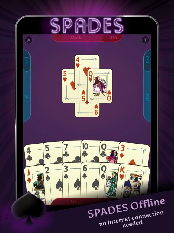 Spades - Offline screenshot 4