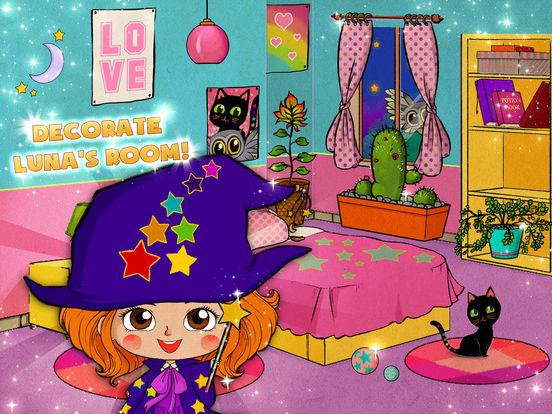 Luna's Magic School - Dress up, pet care & spells screenshot 8
