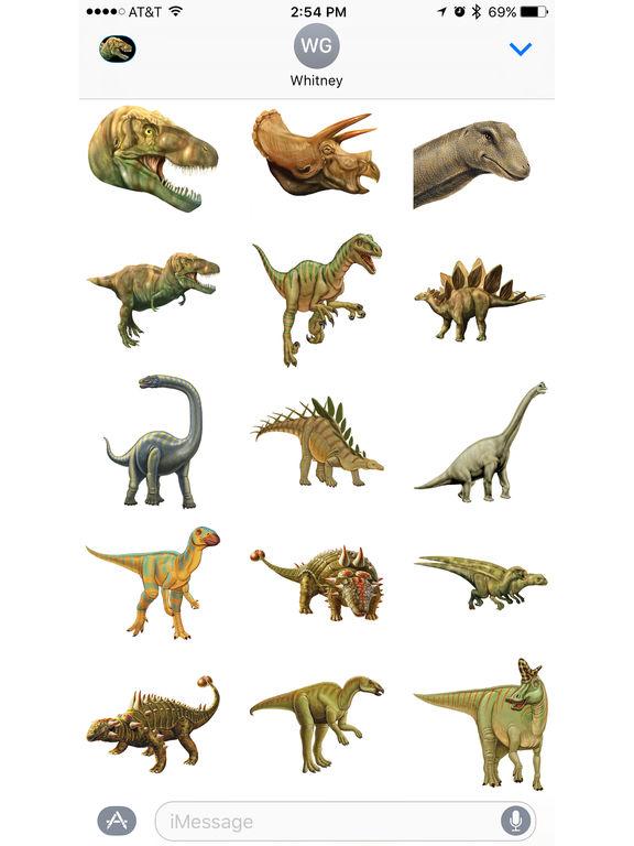 Dinosaur Stickers from Smithsonian Institution screenshot 5
