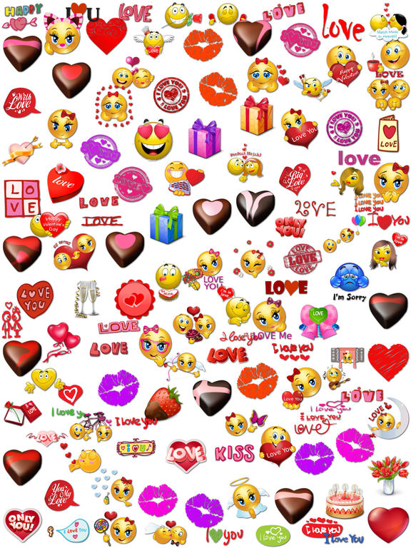 Love Stickers Chat for iMessage screenshot 5