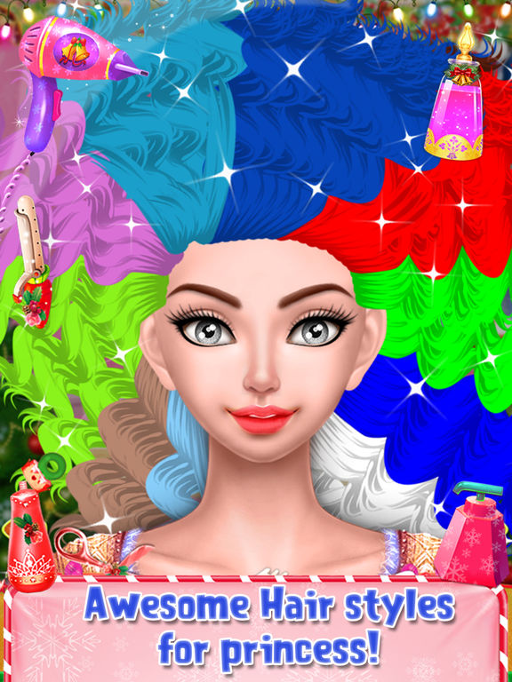 Christmas Doll Makeover Salon screenshot 9