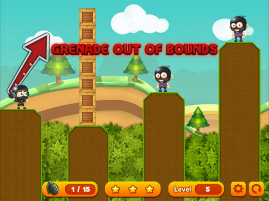 Grenade Toss ® screenshot 9