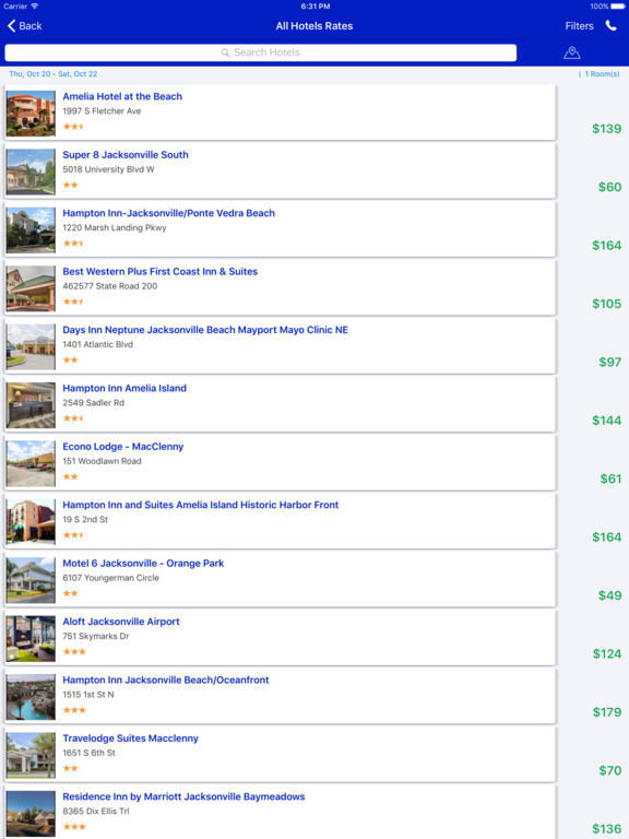 i4jacksonville - Jacksonville Hotels, Yellow Pages screenshot 7