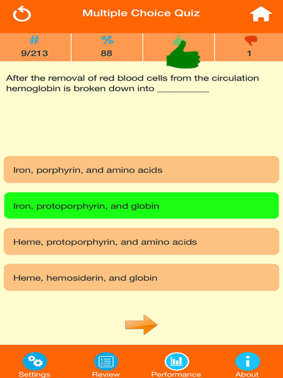 Medical Science : Hematology Quiz | Apps | 148Apps