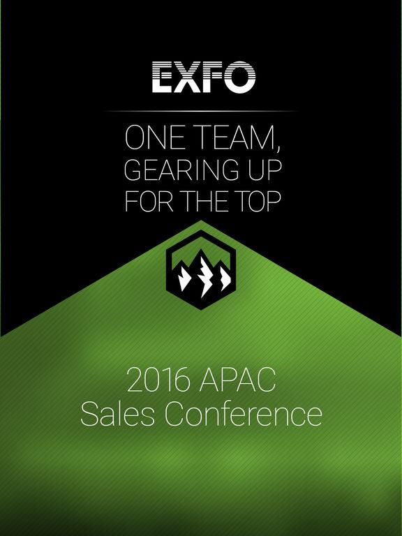 EXFO 2016 APACSales Conference screenshot 4