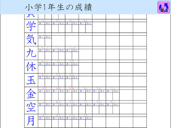 国語(漢字) FV screenshot 10