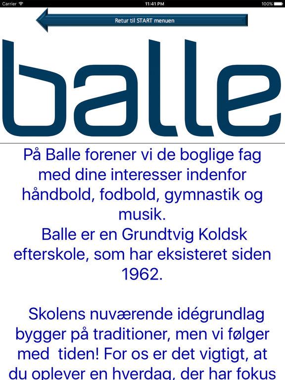 Balle Friskole screenshot 5