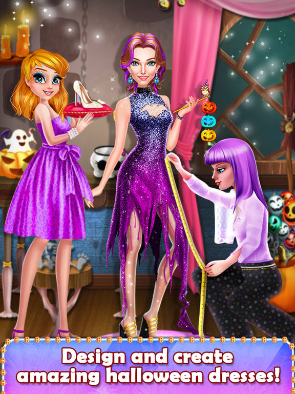 Halloween Spooky Girl Salon screenshot 6