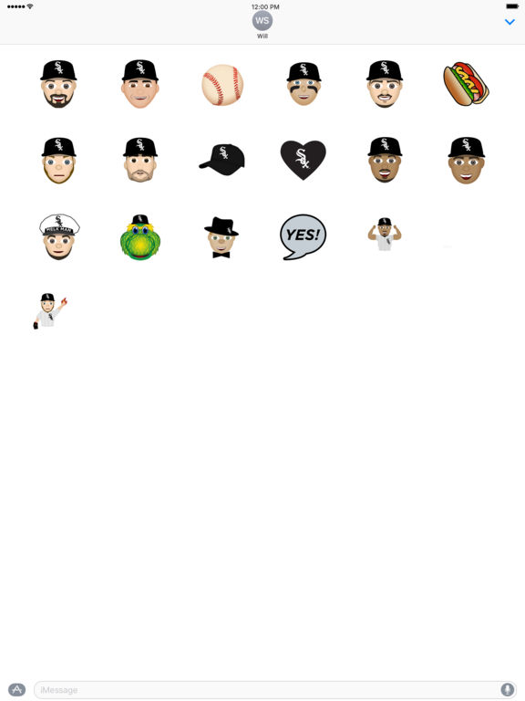Chicago White Sox 2016 MLB Sticker Pack screenshot 3