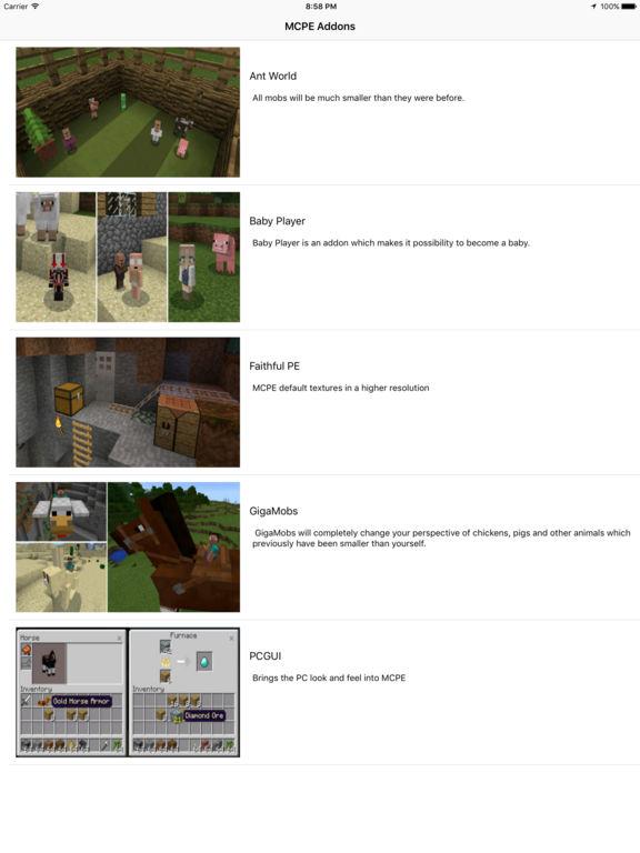 Addons+ for Minecraft PE screenshot 2