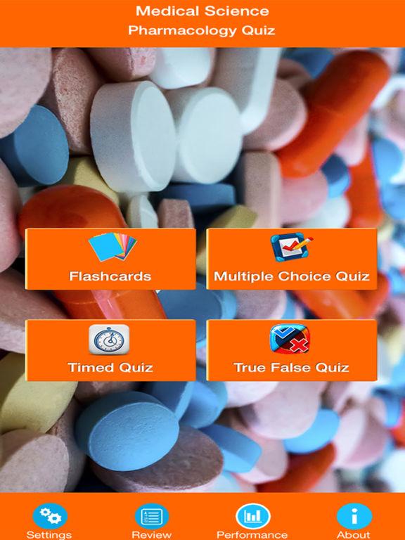 Medical Science : Pharmacology Quiz screenshot 6
