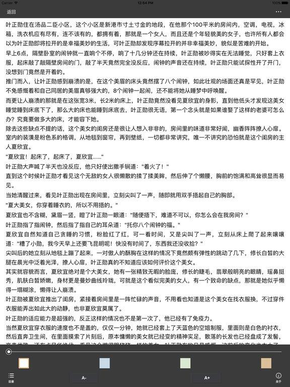 都市商战系列小说:花都特工 screenshot 6