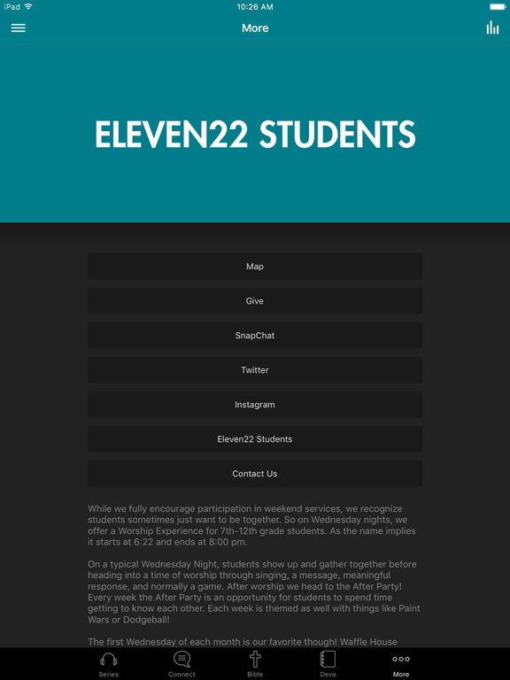 Eleven22 Students screenshot 6