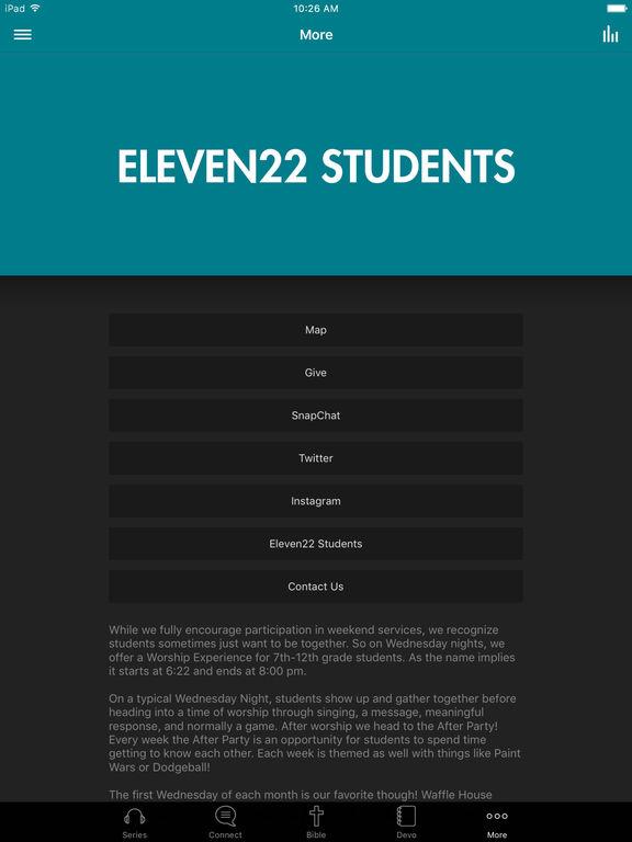 Eleven22 Students screenshot 6