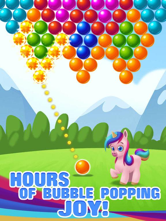 Bubble Shooter Unicorn screenshot 9