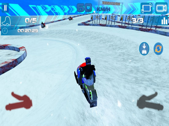 Real Snow Drifting Cart : Charistmas Special Ride screenshot 6