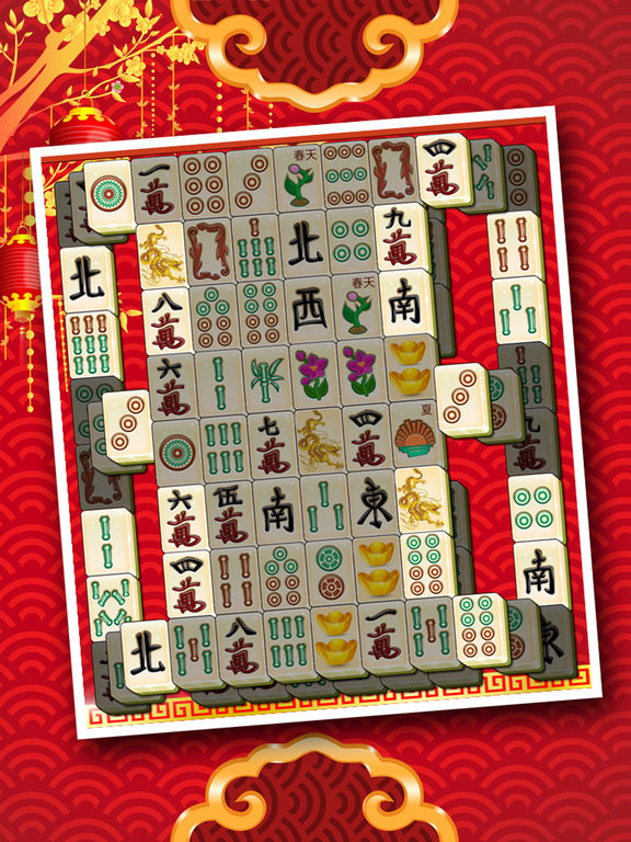 Mahjong Deluxe Free - Majong Tower Treasure Quest screenshot 7