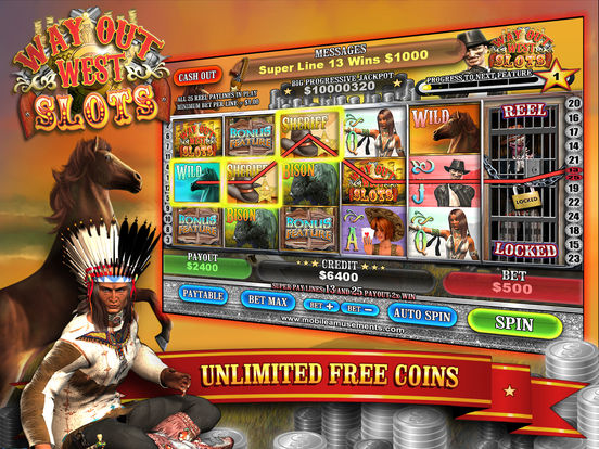 Way Out Wild West Slots screenshot 6