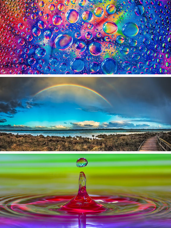 Rainbow Wallpapers - Beautiful Rainbow HD Pictures screenshot 9