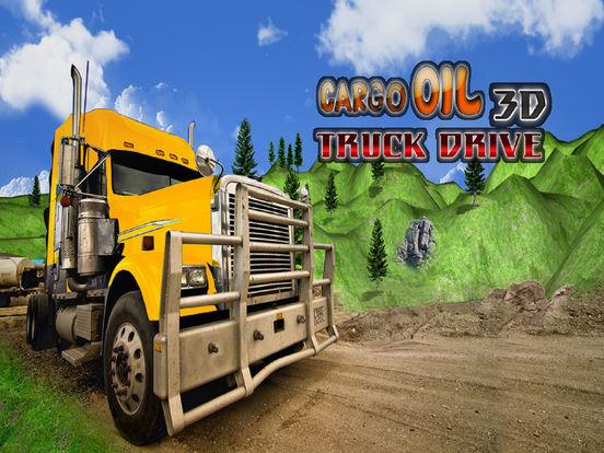 Cargo Oil 3D Truck Drive screenshot 4