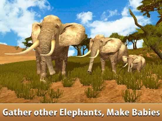 Big Elephant Simulator: Wild African Animal 3D Full screenshot 6