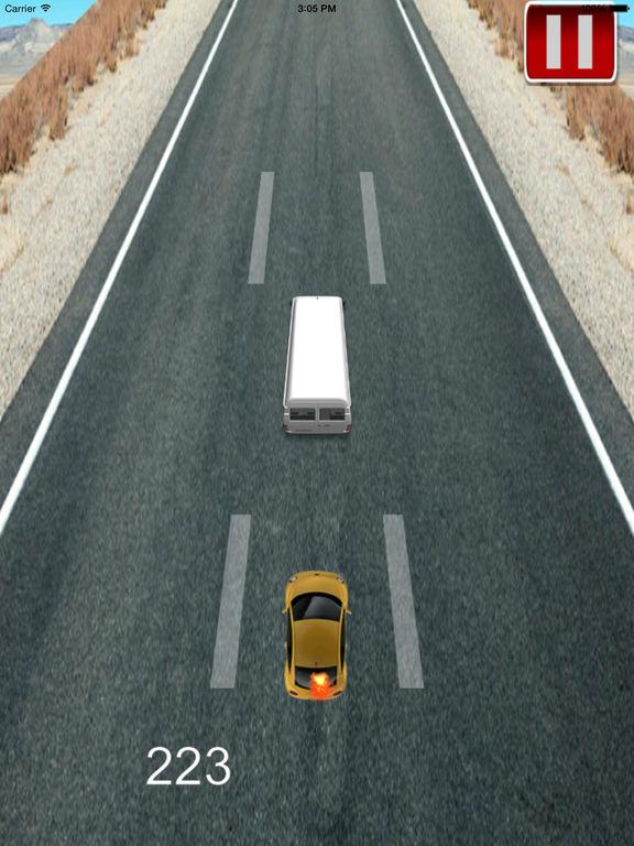 Big Track Car Racing On The Run Pro - Maximum Speed Game screenshot 7