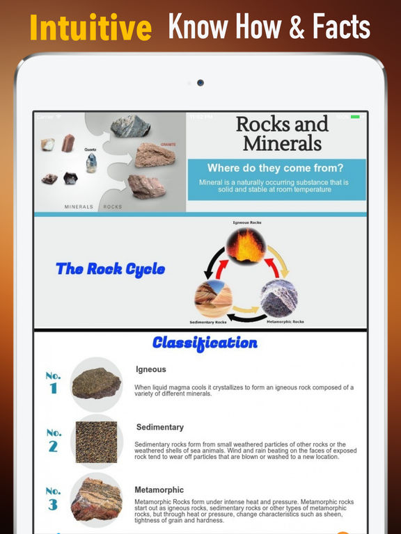 Rocks and Minerals|Guide and Breaking News screenshot 7