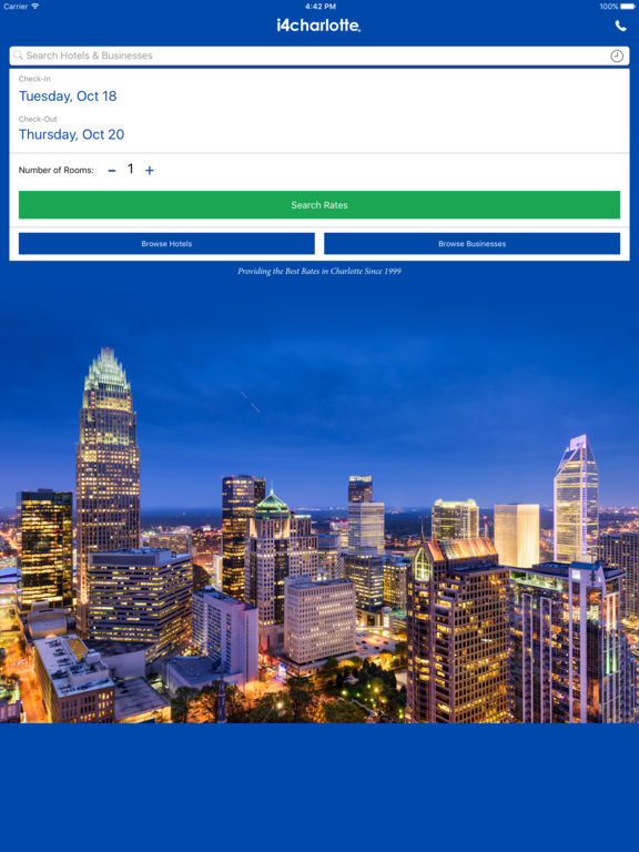 i4charlotte - Charlotte Hotels & Yellow Pages screenshot 6