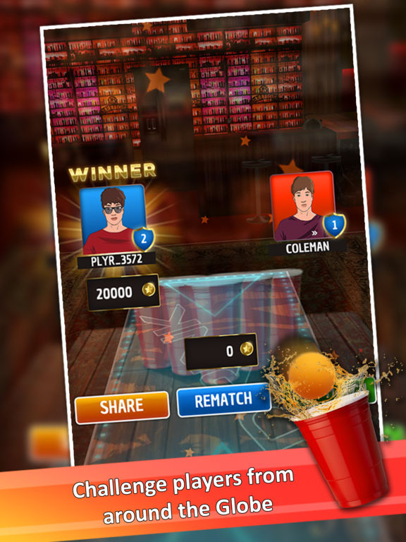 Beer Pong : Trickshot screenshot 6