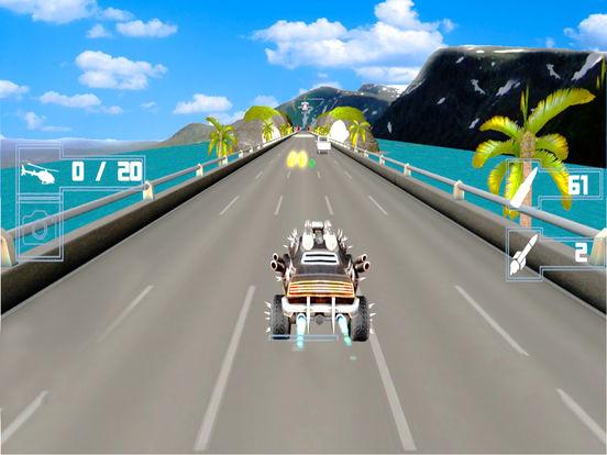 Avengers Death Car : Shooting Racing Adventure screenshot 6