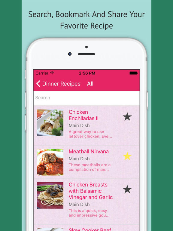 Dinner Recipes Pro screenshot 5