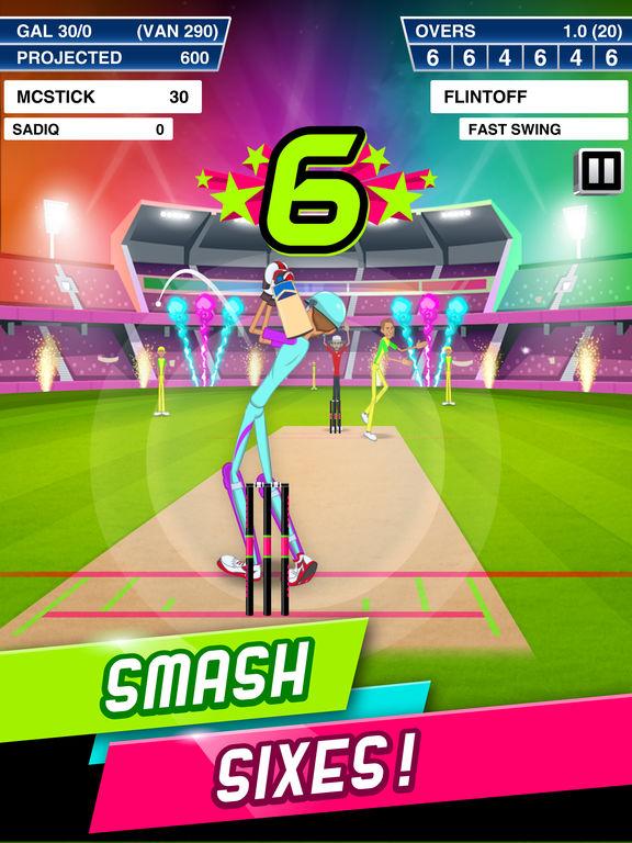 Stick Cricket Super League screenshot #1