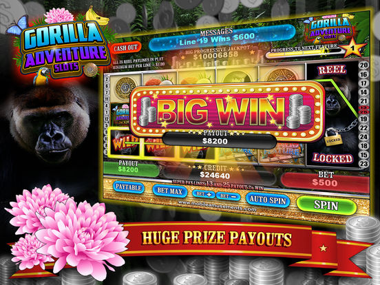 Gorilla Adventure Slots screenshot 8