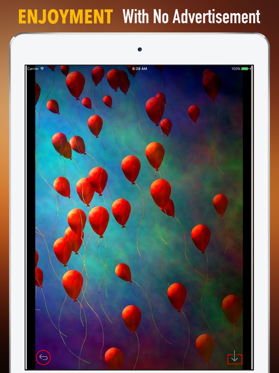 Red Balloon Wallpapers HD- Quotes and Photography screenshot 7