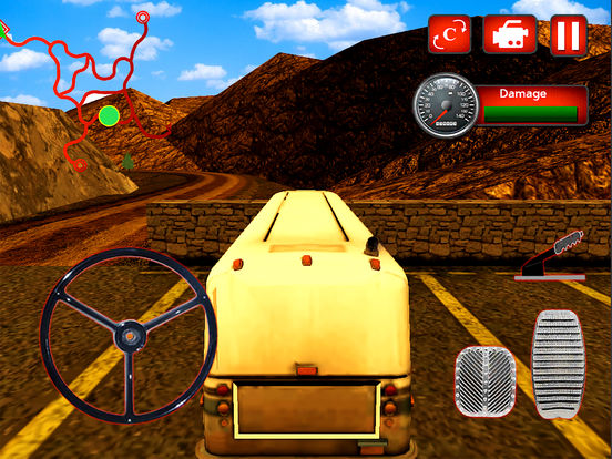 Off-Road Passenger Bus : 3D Adventure On Hill 2016 screenshot 5