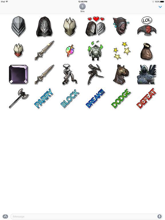 Infinity Blade Stickers screenshot 7