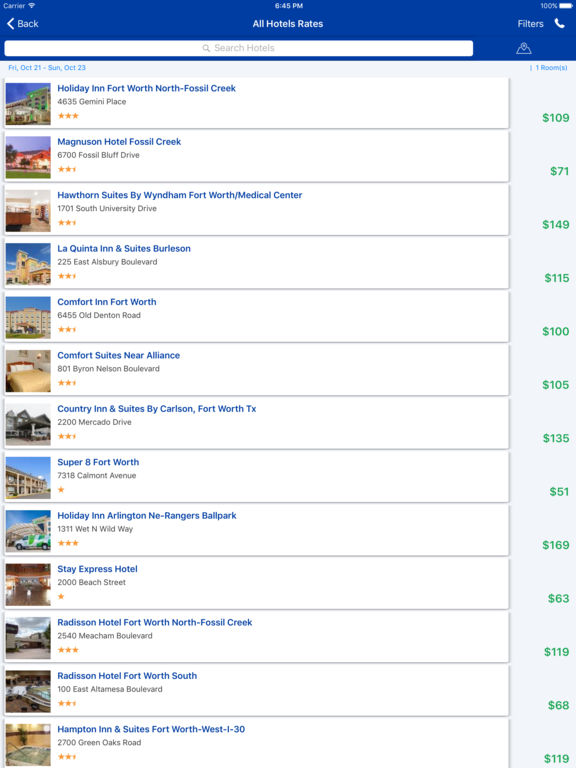 i4fortworth - Fort Worth Hotels & Yellow Pages screenshot 9