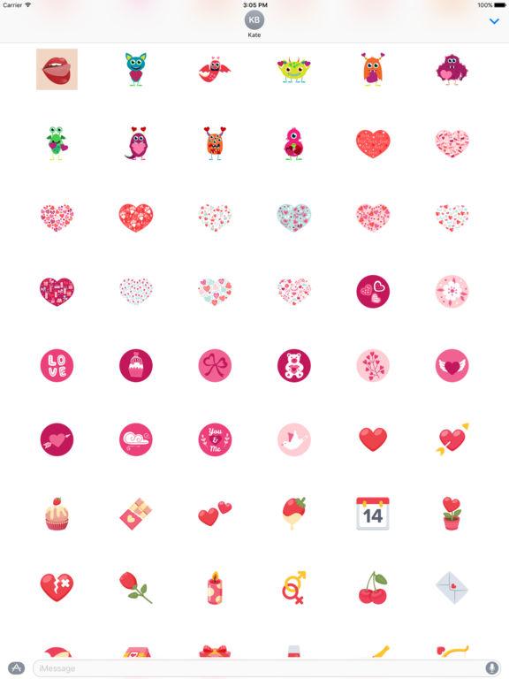 Love - Stickers screenshot 9