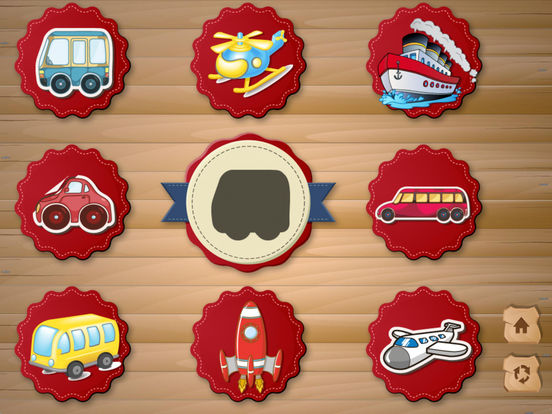 Shapes for preschoolers: Vehicles screenshot 10