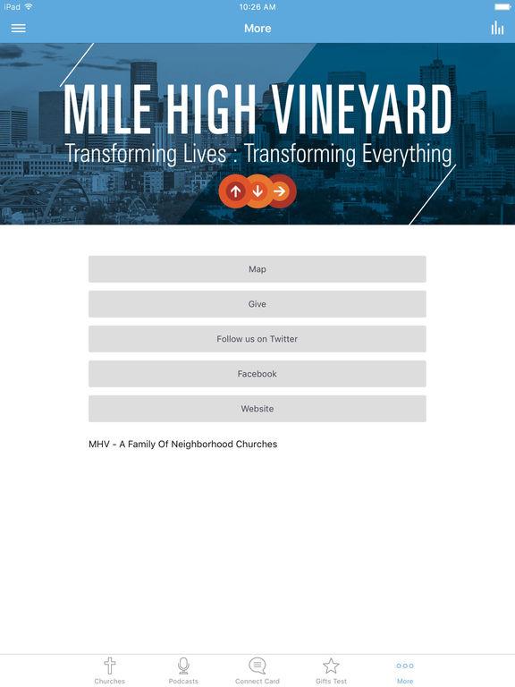 Mile High Vineyard screenshot 6