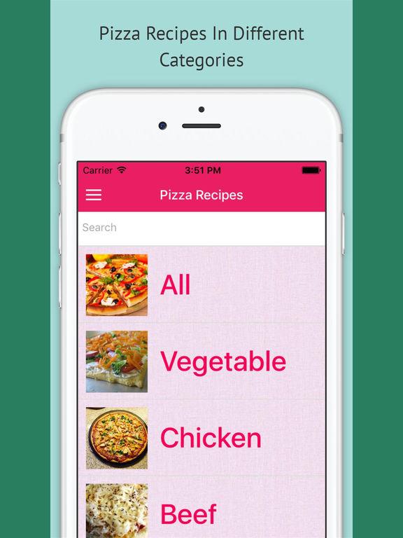 Pizza Recipes Pro - Offline Recipes screenshot 4