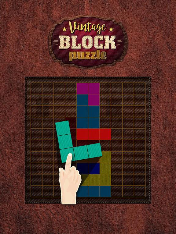 Vintage Block Puzzle Game screenshot 6