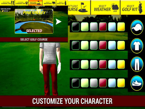 Professional Golf Play : The Golf Championship screenshot 6
