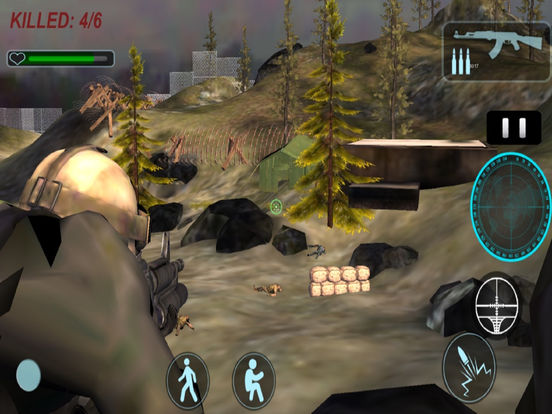 3D Commando Shooter : A Free Sniper Killer 2016 screenshot 6