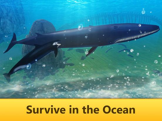 Ocean Whale Simulator: Animal Quest 3D screenshot 8