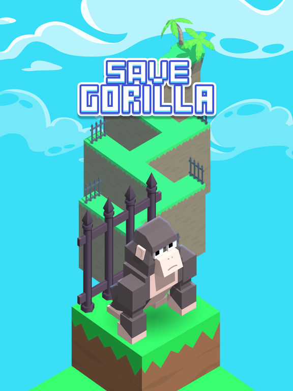 Save Gorilla - Endless Arcade Chase Challenge screenshot 4